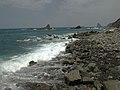 Los roques de Anaga vistos desde la playa.jpg