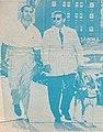 Lou Thesz and Leroy McGuirk - Wrestling - Chicago Wrestling ORIGINAL dec 12, programme 1952 - p.2-3 (cropped).jpg