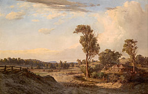 Louis Buvelot - Image: Louis Buvelot Summer afternoon, Templestowe Google Art Project