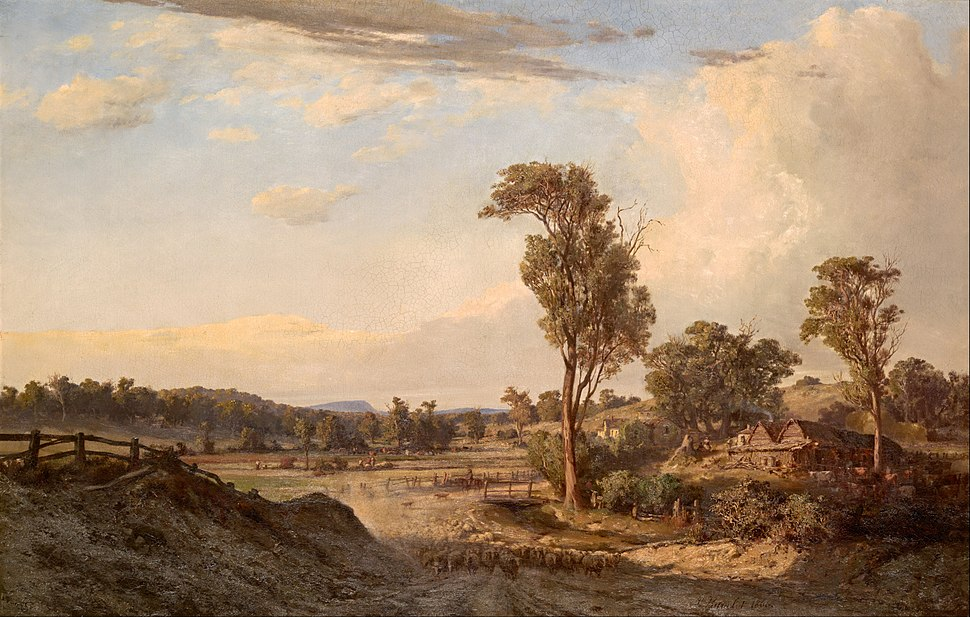 Louis Buvelot - Summer afternoon, Templestowe - Google Art Project