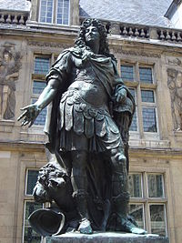 Louis XIV of France, by Coysevox
