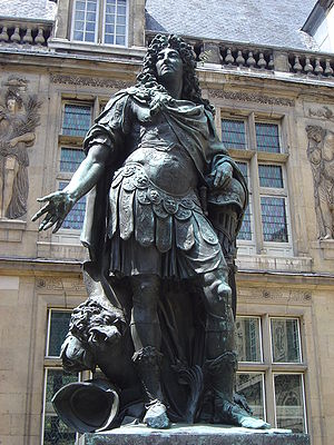 ルイ14世像。コワズヴォ(英語版)作、カルナヴァレ博物館蔵。