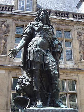 Antoine Coysevox - Louis XIV of France, by Coysevox
