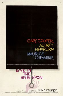 Description de l'image Love in the afternoon (1957) - movie poster.jpg.