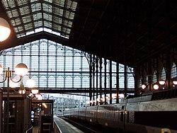 Lovely station lighting and glasswork, with the Eurostar - Flickr - TeaMeister.jpg