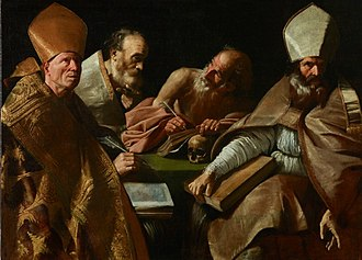 Luigi Primo - The four Doctors of the Church, Royal Palace of Madrid