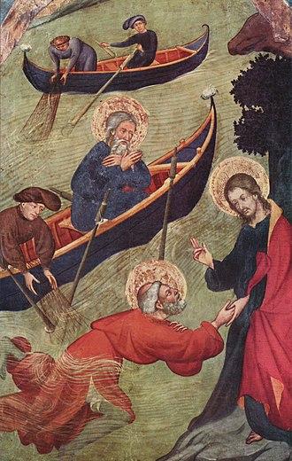 Lluís Borrassà - St. Peter's Altar, c. 1411