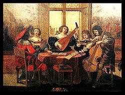 Музиканти картина абрахама боссе 1635