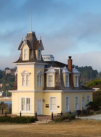 Benjamin and Hilarita Lyford House - Image: Lyford House, Tiburon