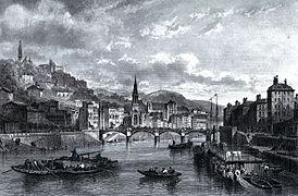 Lyon en 1860