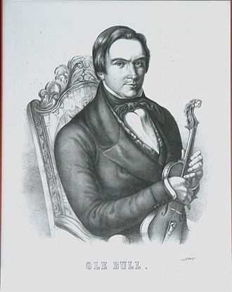 Ole Bull - Violinist and composer Ole Bull