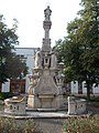 Mária-oszlop ID 7049. (1749) - Mária-kert, Központ, Gödöllő.JPG