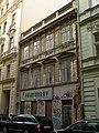 Měšťanský dům (Nové Město), Praha 1, Palackého 721, Nové Město.JPG