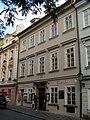 Měšťanský dům U bílého čápa (Malá Strana), Praha 1, U lužického semináře 22, Malá Strana.JPG