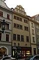 Měšťanský dům U stříbrné růže, U bohatého řeme (Malá Strana), Praha 1, Mostecká 19, Malá Strana.JPG