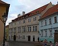 Městský dům (Hradčany), Praha 1, Loretánská 13, Hradčany - jiný pohled.JPG