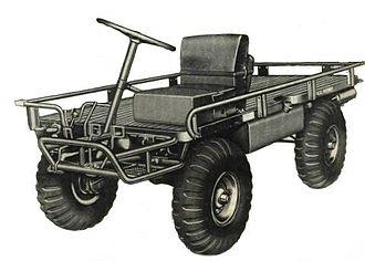 M274 ½-ton 4×4 utility platform truck - M274 Mechanical Mule