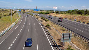 Highways in Spain - Image: M40 outside Madrid