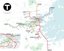 Схемы метро США.