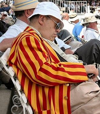 Marylebone Cricket Club - MCC member in distinctive MCC colours