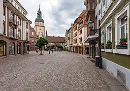 Marktstraße in Ettlingen