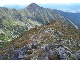 Mountain range along the border between Poland, the Czech Republic, and Slovakia