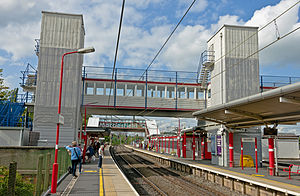Macclesfield railway station - Macclesfield Station, August 2014