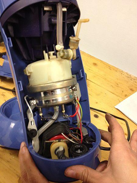 Le réservoir (ballon) de la machine à expresso