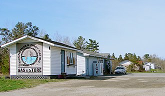 Magnetawan First Nation - Gas station on the reserve