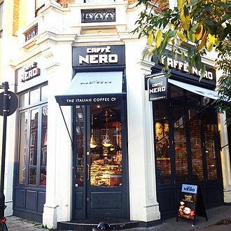 Gerry Ford (businessman) - Caffè Nero in Maida Vale