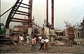 Main Auditorium Under Construction - Convention Centre Complex - Science City - Calcutta 1994-11-03 478.JPG