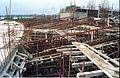 Main Auditorium Under Construction - Convention Centre Complex - Science City - Calcutta 1994-11-03 492.JPG