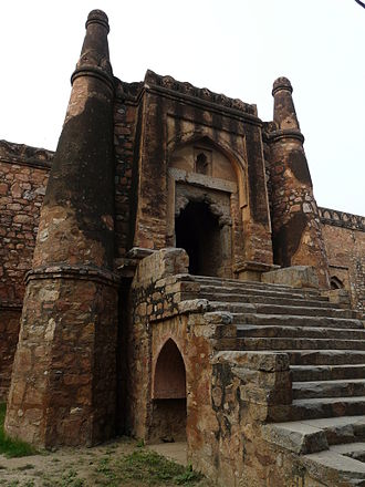 Khirki Mosque - Main (East) Entrance Gate