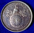 Mainz, Germany, Silver Medal 1840, Gutenberg Printing Press 400th Anniversary, reverse.jpg
