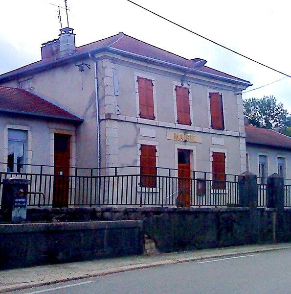 Mairie de la commune de Condamine (Ain, France)
