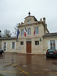 The town hall in Margaux