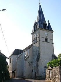 Maiziere church - belltower.JPG