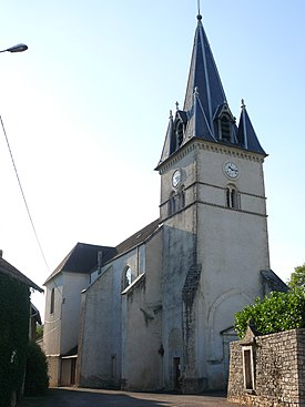 Maiziere church - belltower.JPG
