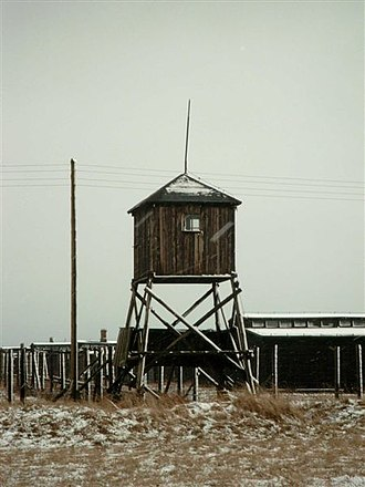 Observation tower - Observation tower in Majdanek death camp
