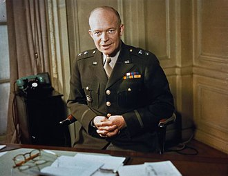 Eisenhower as a major general, 1942 Major General Dwight Eisenhower, 1942 TR207.jpg