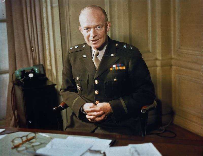 Major General Dwight Eisenhower, 1942 TR207