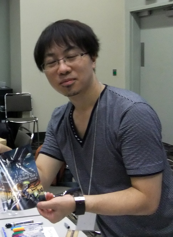 Makoto Shinkai, vid Otakon 2011.