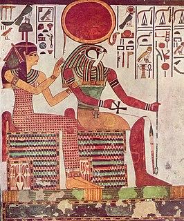 Imentet & Ra uit graf van Nefertari