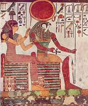 Give Me Your Everything - Image: Maler der Grabkammer der Nefertari 001