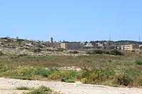 Malta - Pembroke - Triq il-Fortizza - L-Inhawi ta' Pembroke + St Clare College 01 ies.jpg