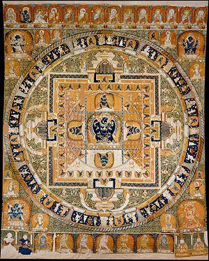 Yamantaka - Yamantaka-Vajrabhairava mandala