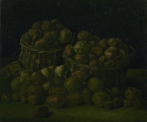 Baskets of Potatoes