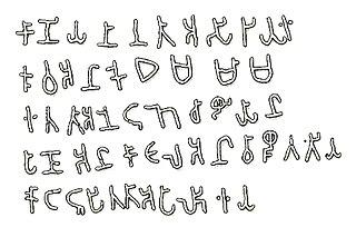 Tamil-Brahmi historical abugida script for Tamil