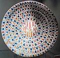 Manises, piatto con armoriale, 1450-1500 ca..JPG