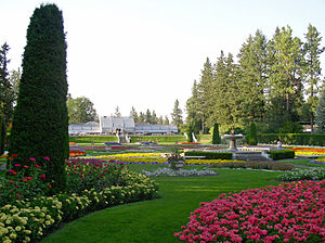 Picture of the Duncan Garden at Manito Park an...